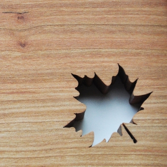 Maple Leaf Kitchen Cutting Board